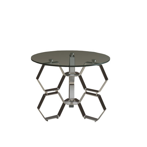 Steel Hive Side Table