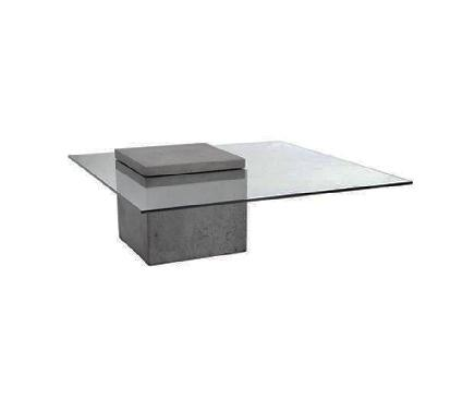 T-Concrete Coffee Table